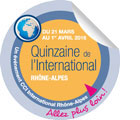 Logo Quinzaine International 2016